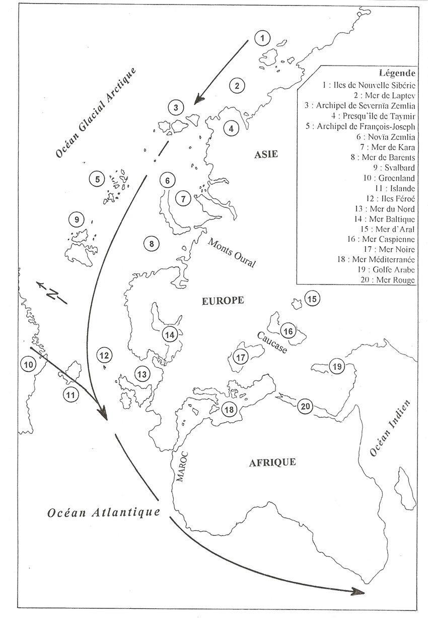 """Carte Géographique Représentant La Région De La """"voie Est concernant Nouvelle Carte Region"""