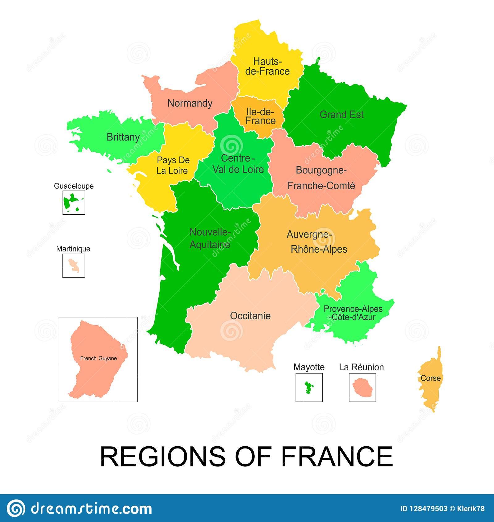 Carte Interactive Des Régions Françaises De La dedans Carte France D Outre Mer