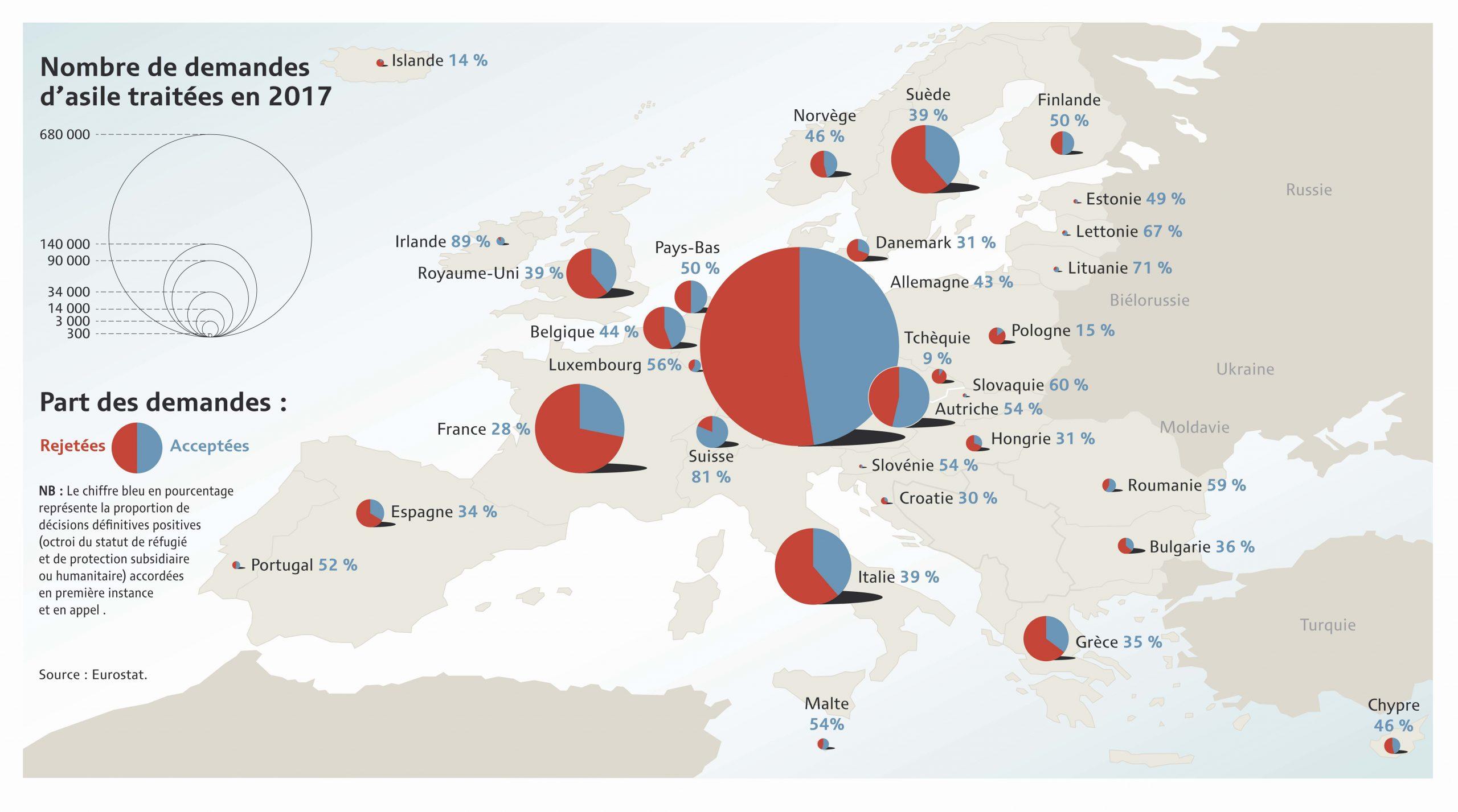 Carte | La Loterie De L'asile 2017 - Asile.ch encequiconcerne Carte Union Européenne 2017