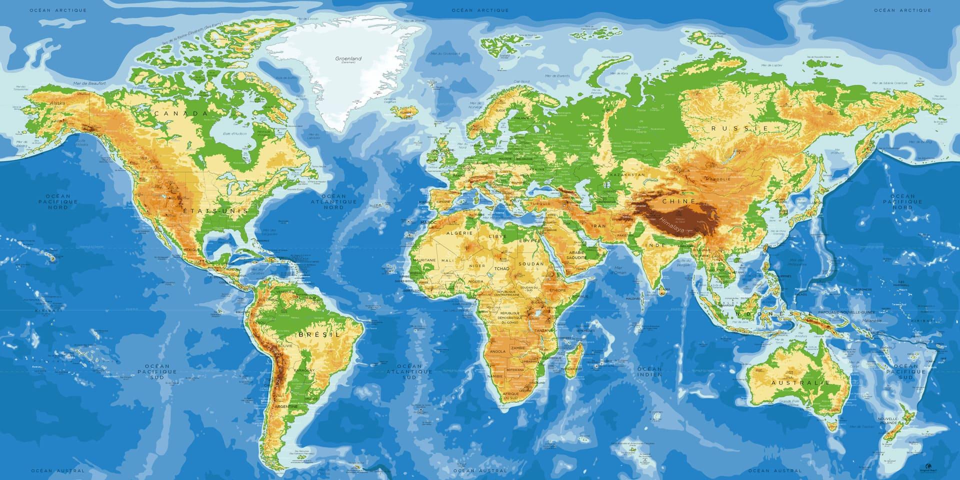 Carte Monde Complète Antarctique - Agora dedans Carte Du Monde Avec Capitale
