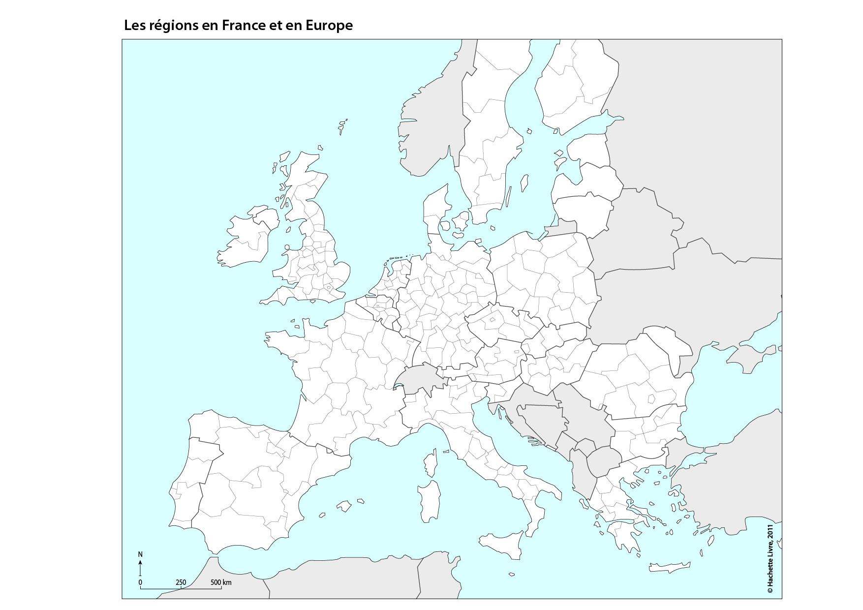 Carte Physique De L'europe Grand Muet intérieur Carte Europe Vierge