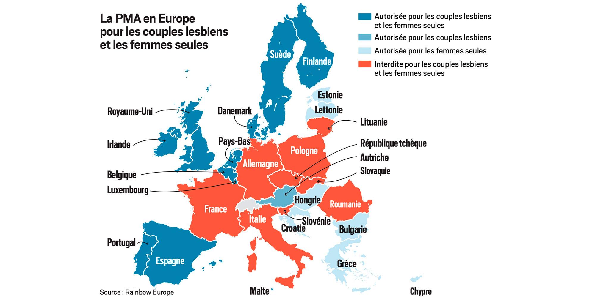 Carte. Pma : L'europe Coupée En Deux tout Pays Et Capitales Union Européenne
