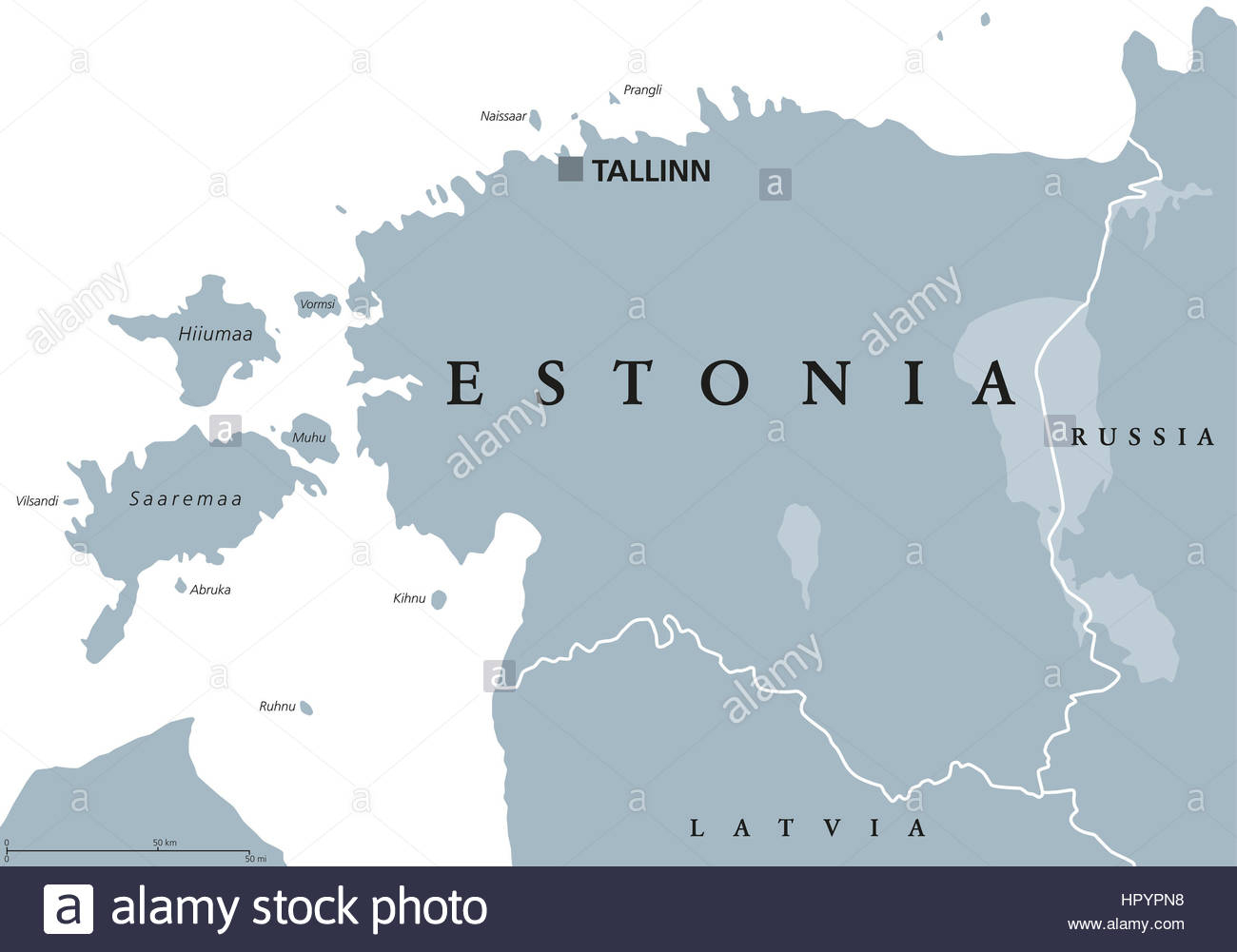 Carte Politique De L'estonie Avec Capitale De L'estonie, Les intérieur Carte Europe Avec Capitale