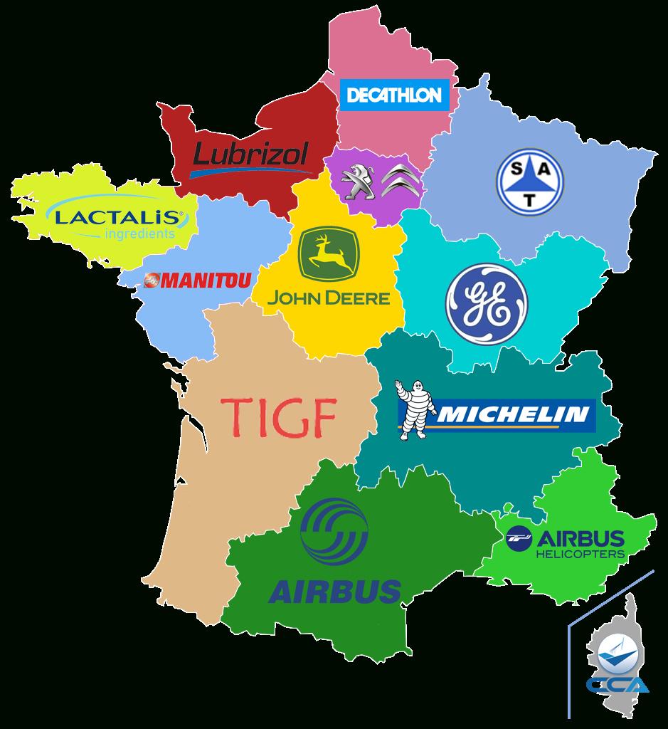 Carte. Quels Sponsors Pour Les Régions Françaises? | Slate.fr pour Carte De France Et Ses Régions