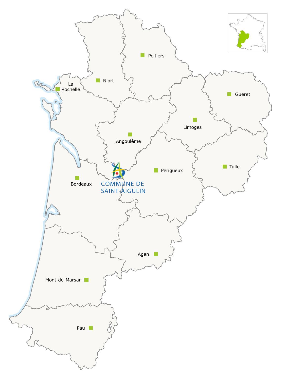 Carte-Region-Nouvelle-Aquitaine-1 - Saint Aigulin concernant Nouvelle Carte Region