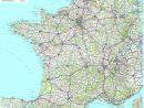 Carte Reseau Routier intérieur Carte De France Grand Format