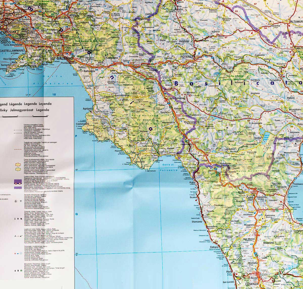 Carte Routière - Italie » Vacances - Arts- Guides Voyages serapportantà Carte De France Detaillée Gratuite