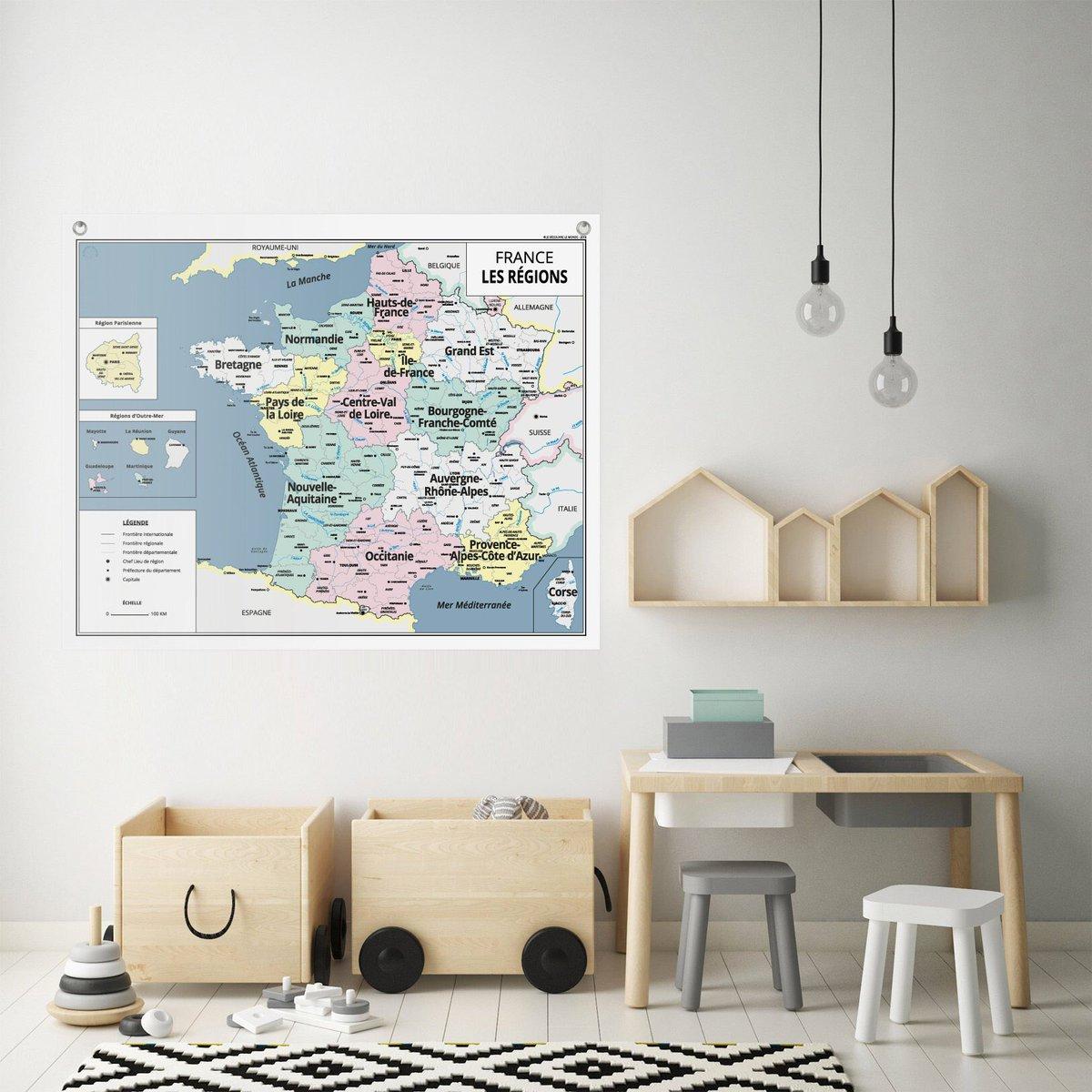 Cartemurale Hashtag On Twitter avec Carte Des 13 Nouvelles Régions De France