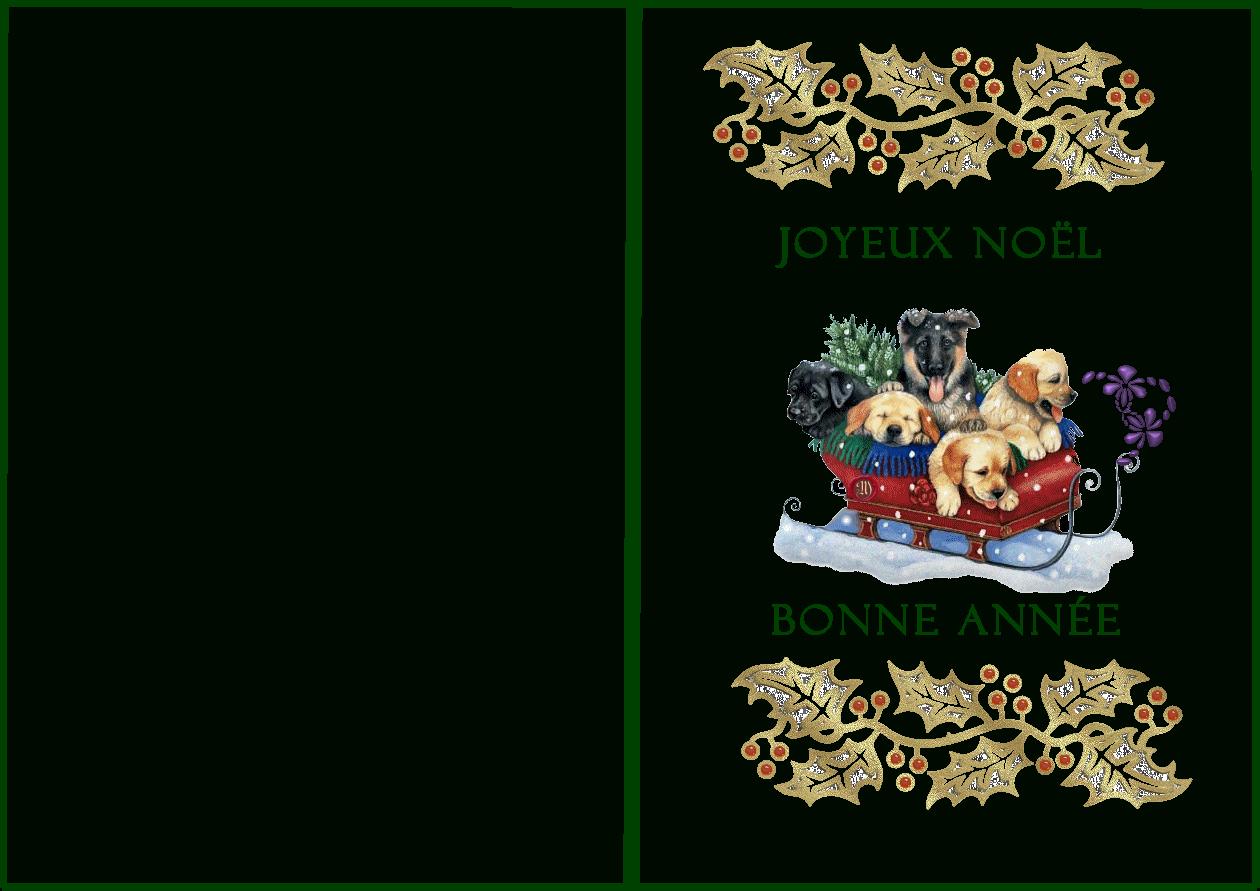Cartes A Imprimer - Page 2 intérieur Carte Joyeux Noel À Imprimer
