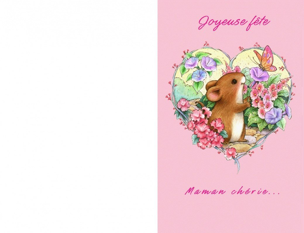 Cartes Bonne Fête Maman , À Imprimer ! - 1000 Idées À Faire serapportantà Carte Bonne Fete Maman Imprimer