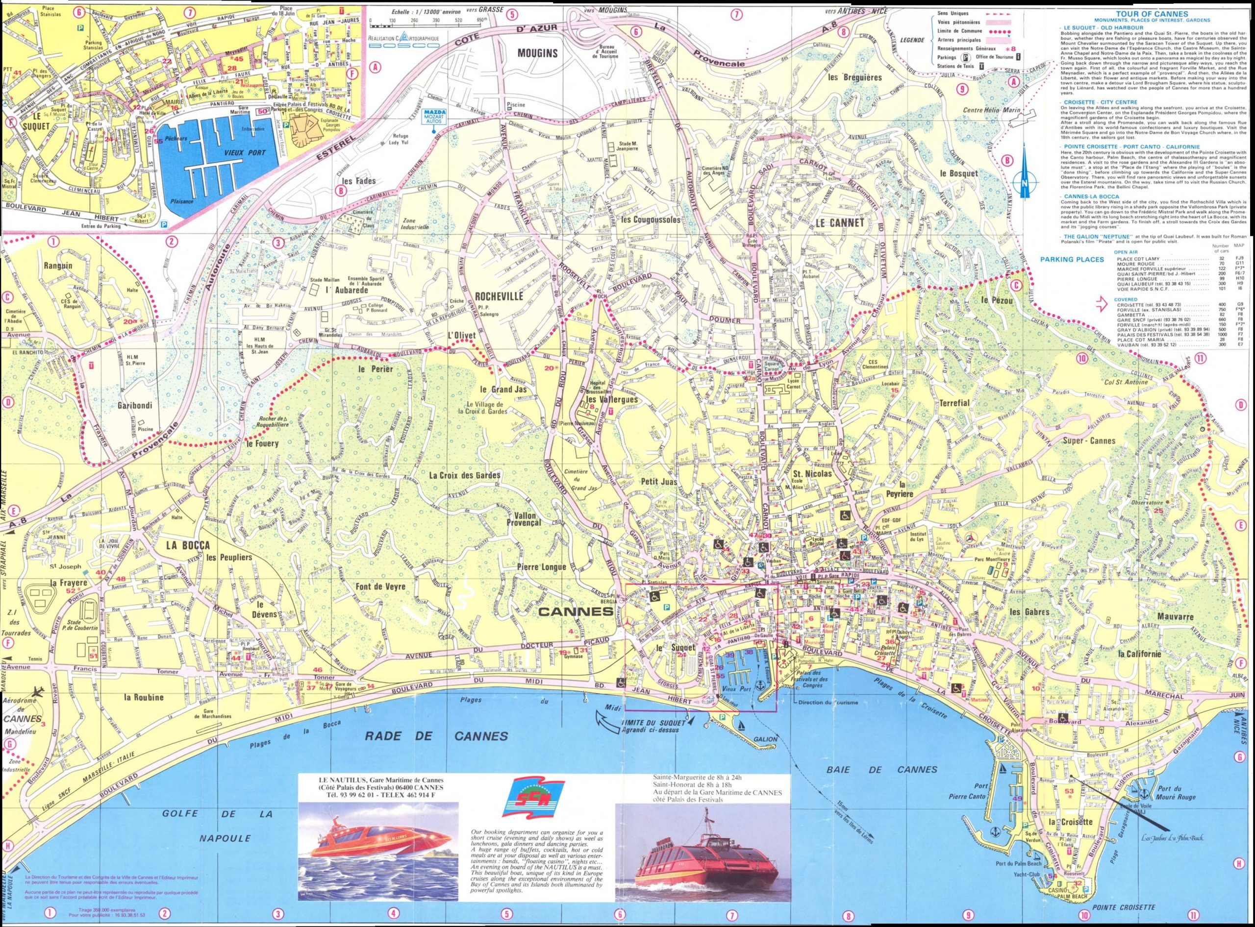 Cartes De Cannes | Cartes Typographiques Détaillées De avec Carte De France A Imprimer