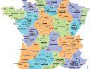 Cartes De France : Cartes Des Régions, Départements Et concernant Carte France Avec Region