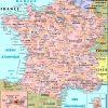Cartes De France : Cartes Des Régions, Départements Et intérieur Carte De La France Avec Ville