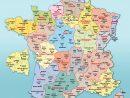 Cartes De France : Cartes Des Régions, Départements Et tout Carte De France Grand Format