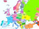 Cartes De L'europe Et Rmations Sur Le Continent Européen encequiconcerne Carte Géographique De L Europe