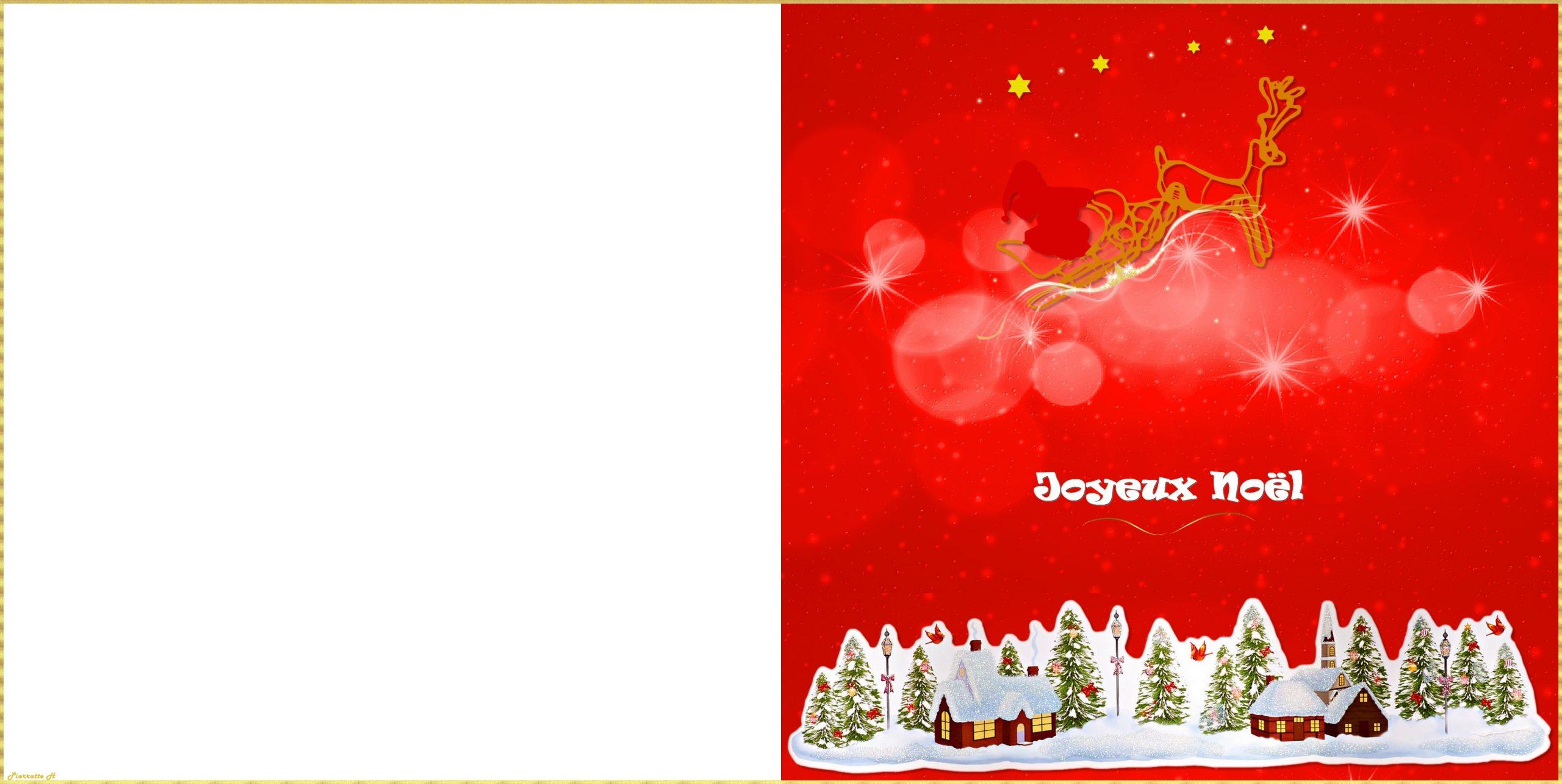 Cartes De Noël À Imprimer - Fonds&décosblogimag'nation avec Carte Joyeux Noel À Imprimer