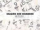 Cartes Nomenclature À Imprimer] - Imagier Des Chiffres Et destiné Apprendre À Tracer Les Chiffres