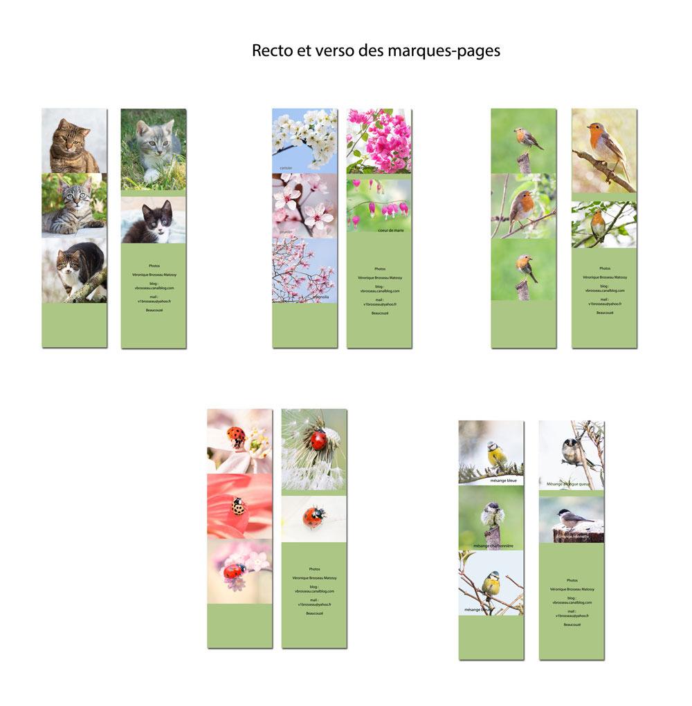 Cartes Postales Nature - Marque-Pages - Nature Émotion serapportantà Marque Page Gratuit À Imprimer