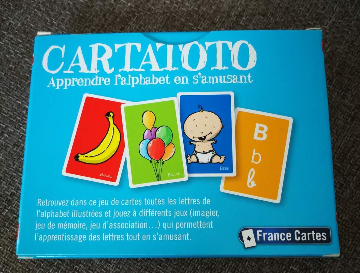 Carto Un Jeu Pour Apprendre L'alphabet En S'amusant tout Jeux Pour Apprendre L Alphabet