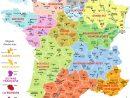 Cartograf.fr : La France : Carte De La France Avec Les Régions dedans Carte De France Ludique