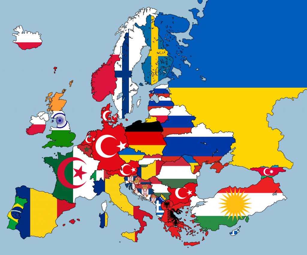 Cartographie Numérique: Que Valent Toutes Ces Cartes Sur avec Carte Europe Sans Nom Des Pays