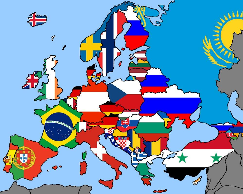 Cartographie Numérique: Que Valent Toutes Ces Cartes Sur dedans Carte Europe Sans Nom Des Pays