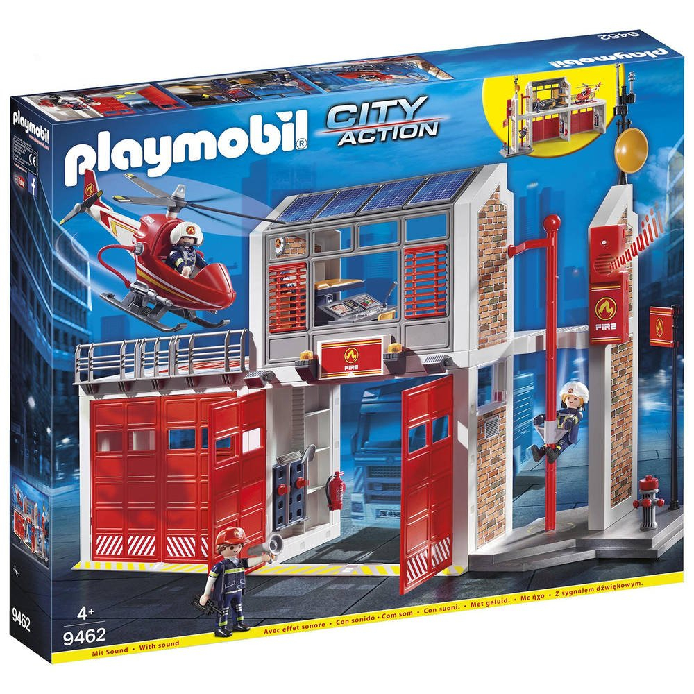 Caserne De Pompiers Et Helicoptere - 9462 | Jeux De destiné Jeux Gratuit De Pompier