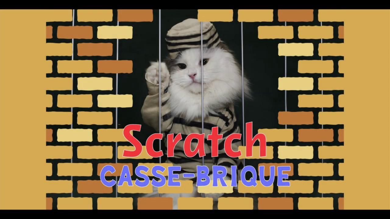 Casse Brique - Créons Un Jeu Avec Scratch! encequiconcerne Jeu Casse Brique