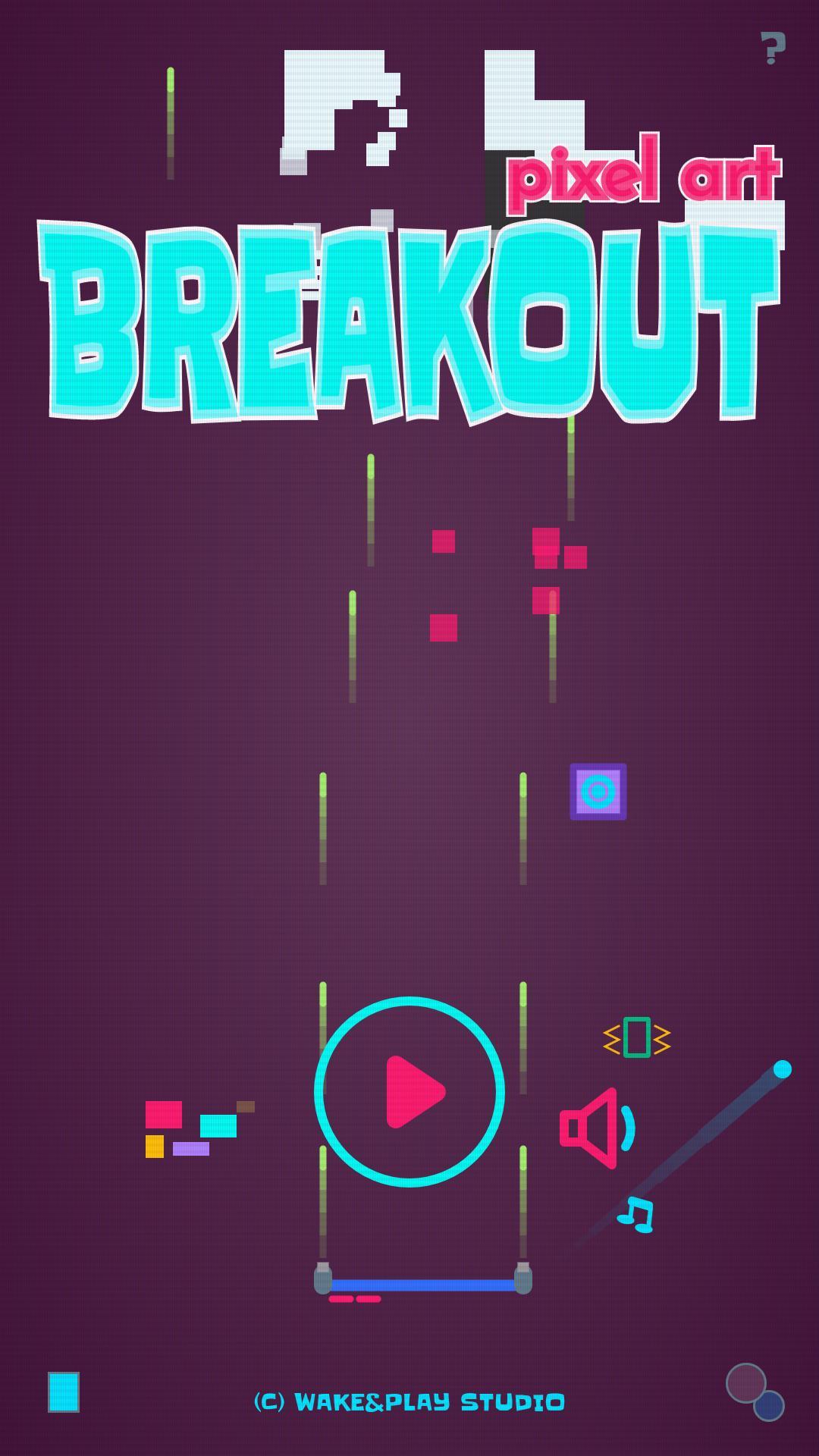 Casse-Brique - Pixel Breakout Art Pour Android - Téléchargez pour Jeu Casse Brique