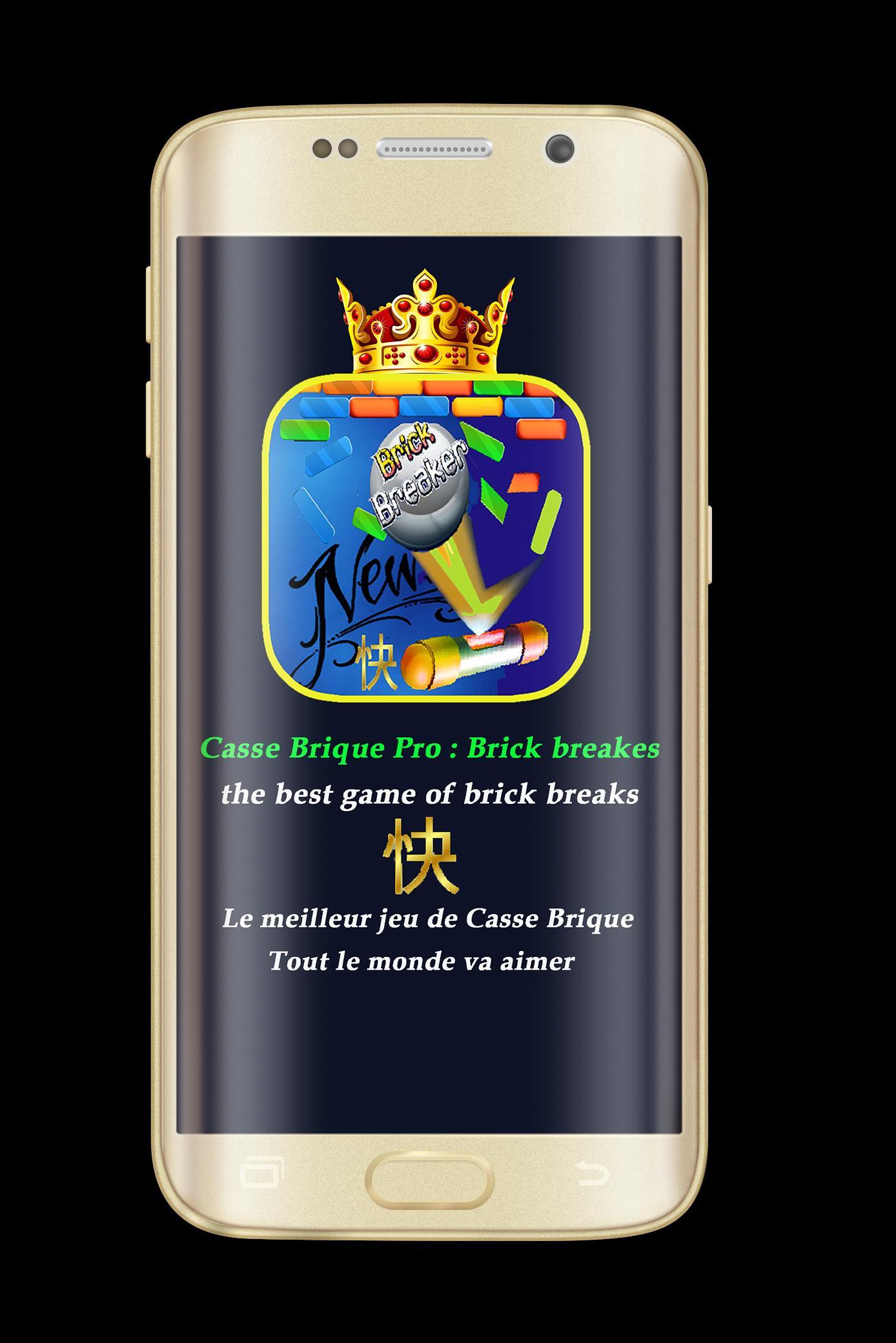 Casse Brique Pro : Brick Breakes For Android - Apk Download tout Casse Brick