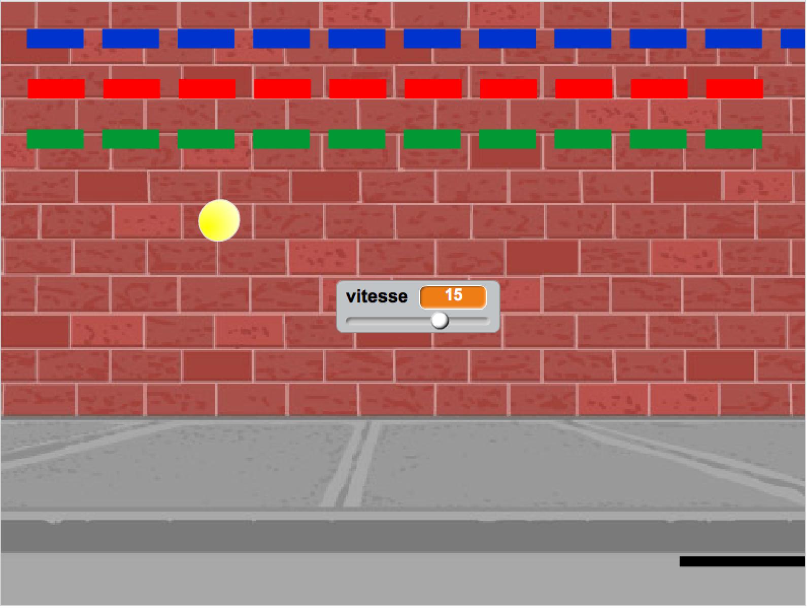 Casse Brique Scratch - Tech Kids Academy serapportantà Jeux De Casse Brique
