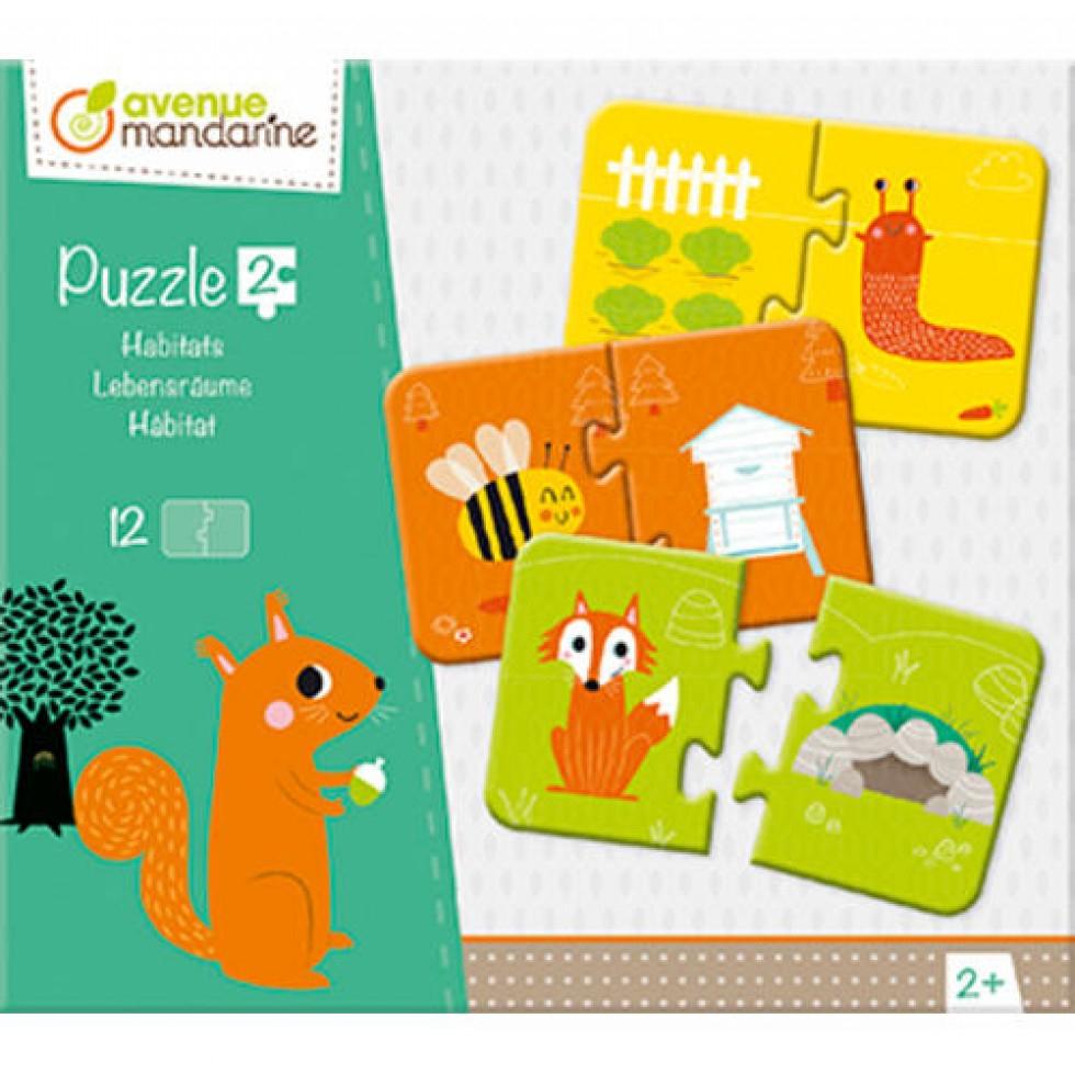 Casse-Tête 2 Pièces Éducatifs Pour Enfant De 2 Ans intérieur Jeux Educatif 2 Ans