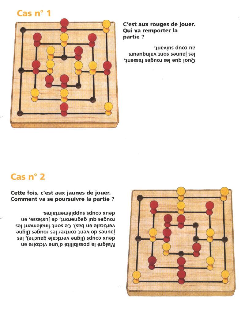Casse-Tête - Divers - La Marelle Ou Le Moulin - N° 54 destiné Jeux A Deux En Ligne