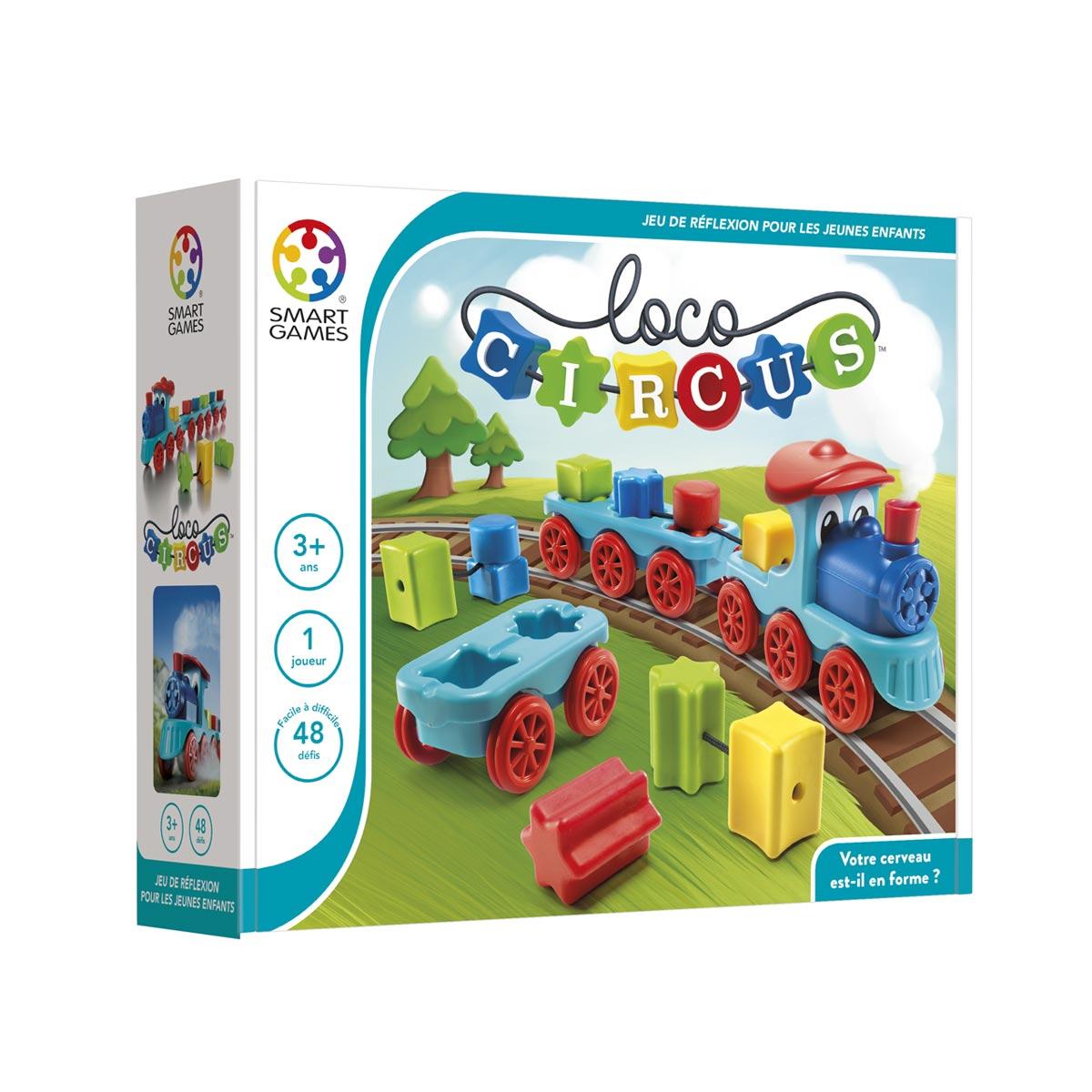 Casse-Tête Loco Circus tout Jeux Pour Enfant De 3 Ans