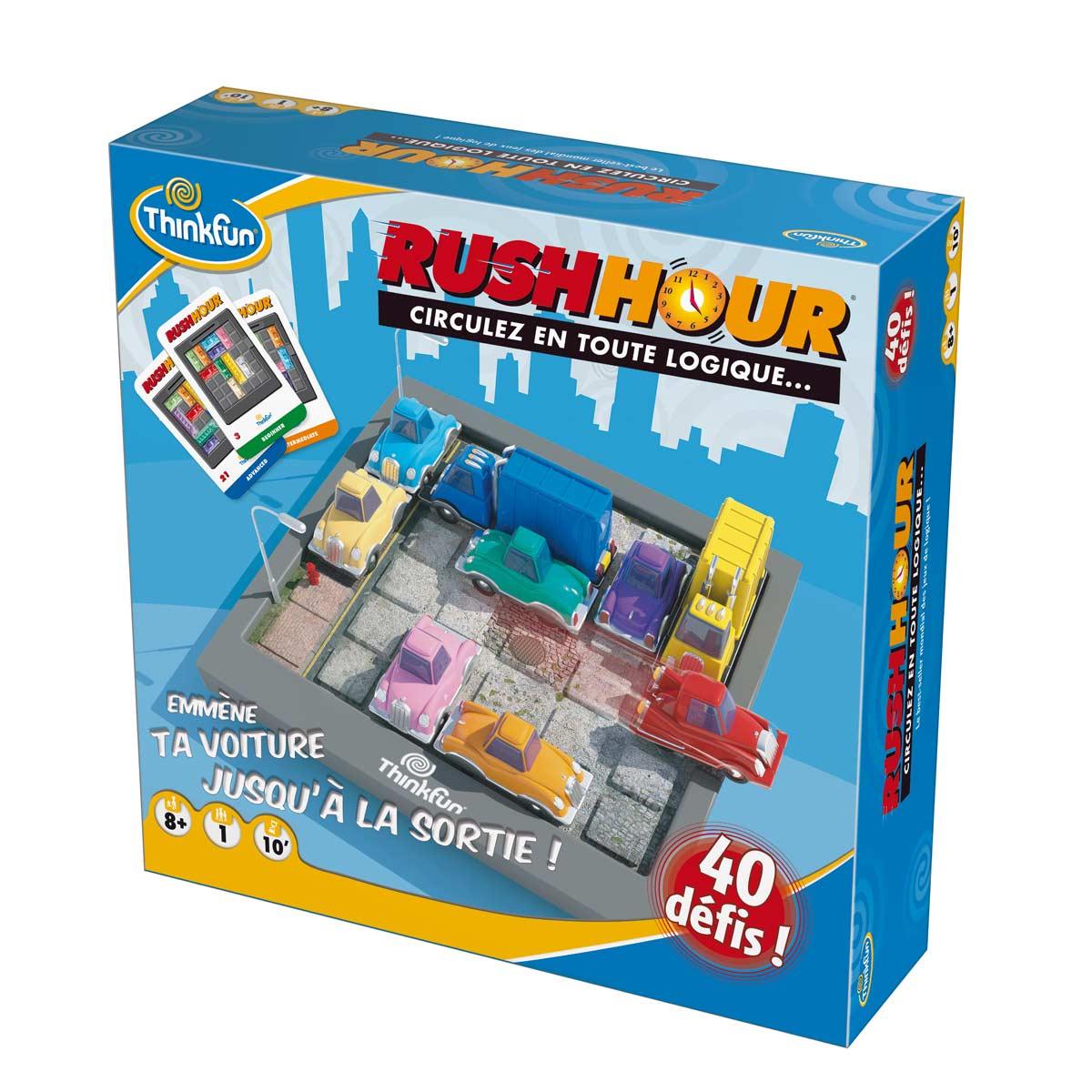 Casse-Tête Rush Hour à Jeux De Logique Enfant