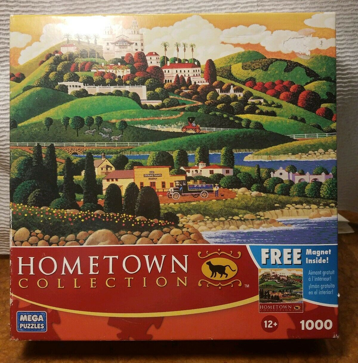 """castle Drive"" A Mega 1000 Piece Hometown Collection Jigsaw Puzzle By  Heronim destiné Puzzle Photo Gratuit"