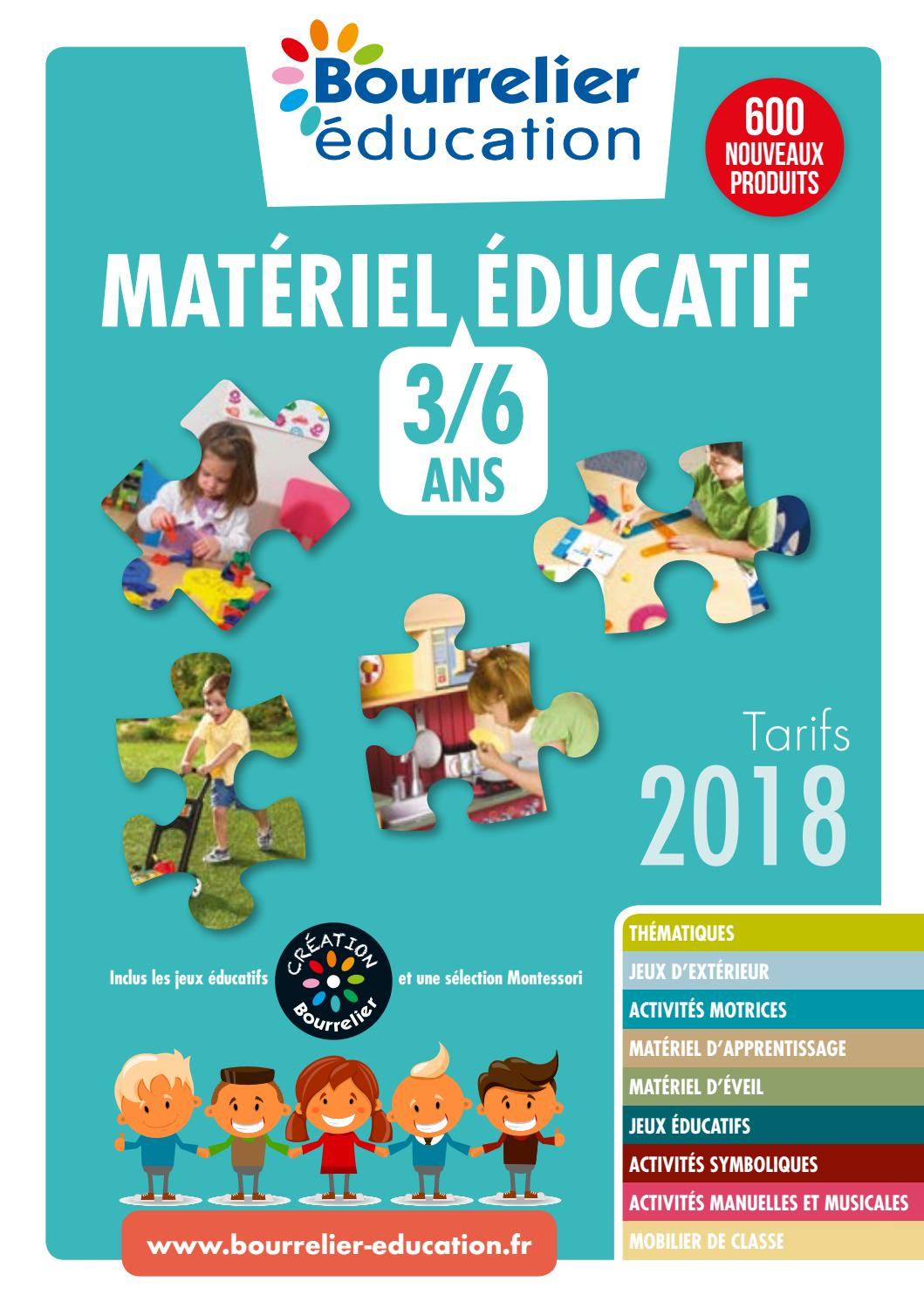 Catalogue Bourrelier Education 3 6 Ans 2018 By Bourrelier encequiconcerne Jeux Educatif 4 Ans