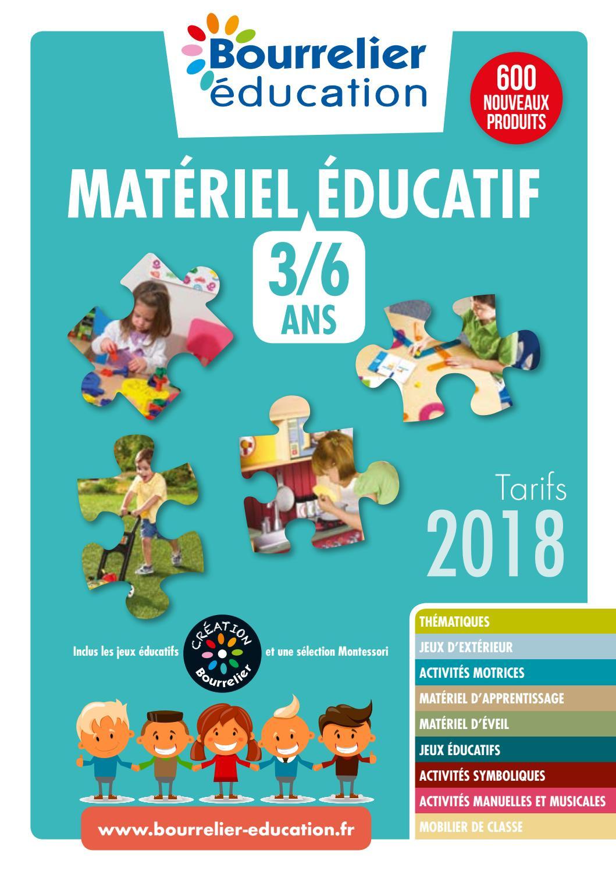 Catalogue Bourrelier Education 3 6 Ans 2018 By Bourrelier encequiconcerne Jeux Educatif 5 6 Ans