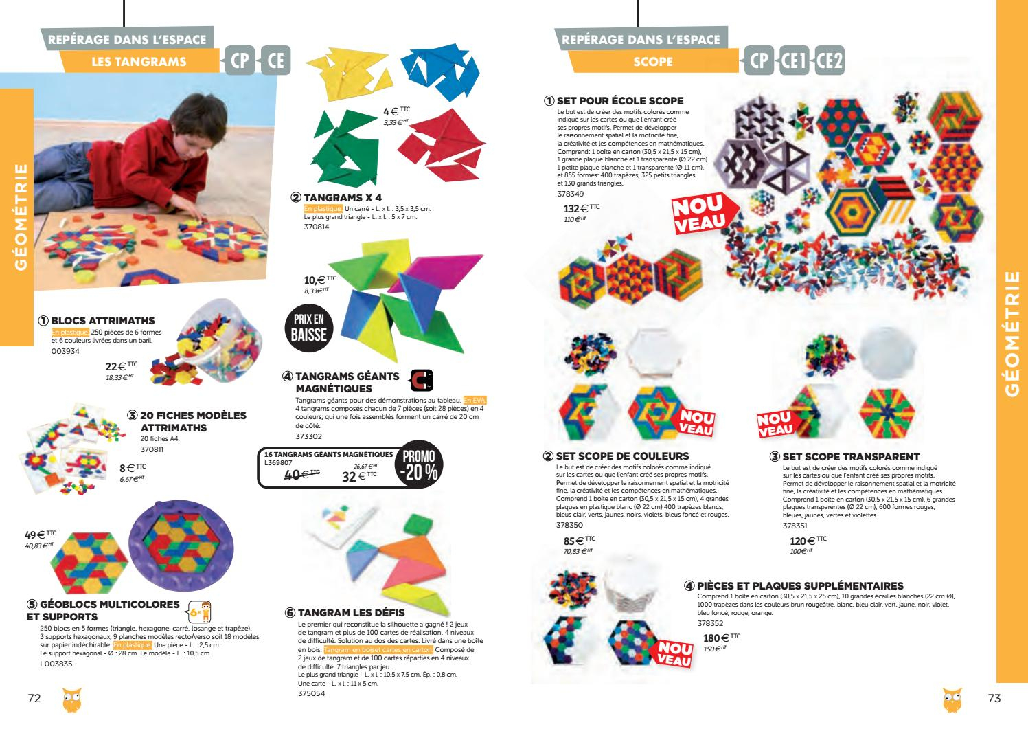 Catalogue Bourrelier Education 6 11 Ans 2018 By Bourrelier à Tangram Modèles Et Solutions