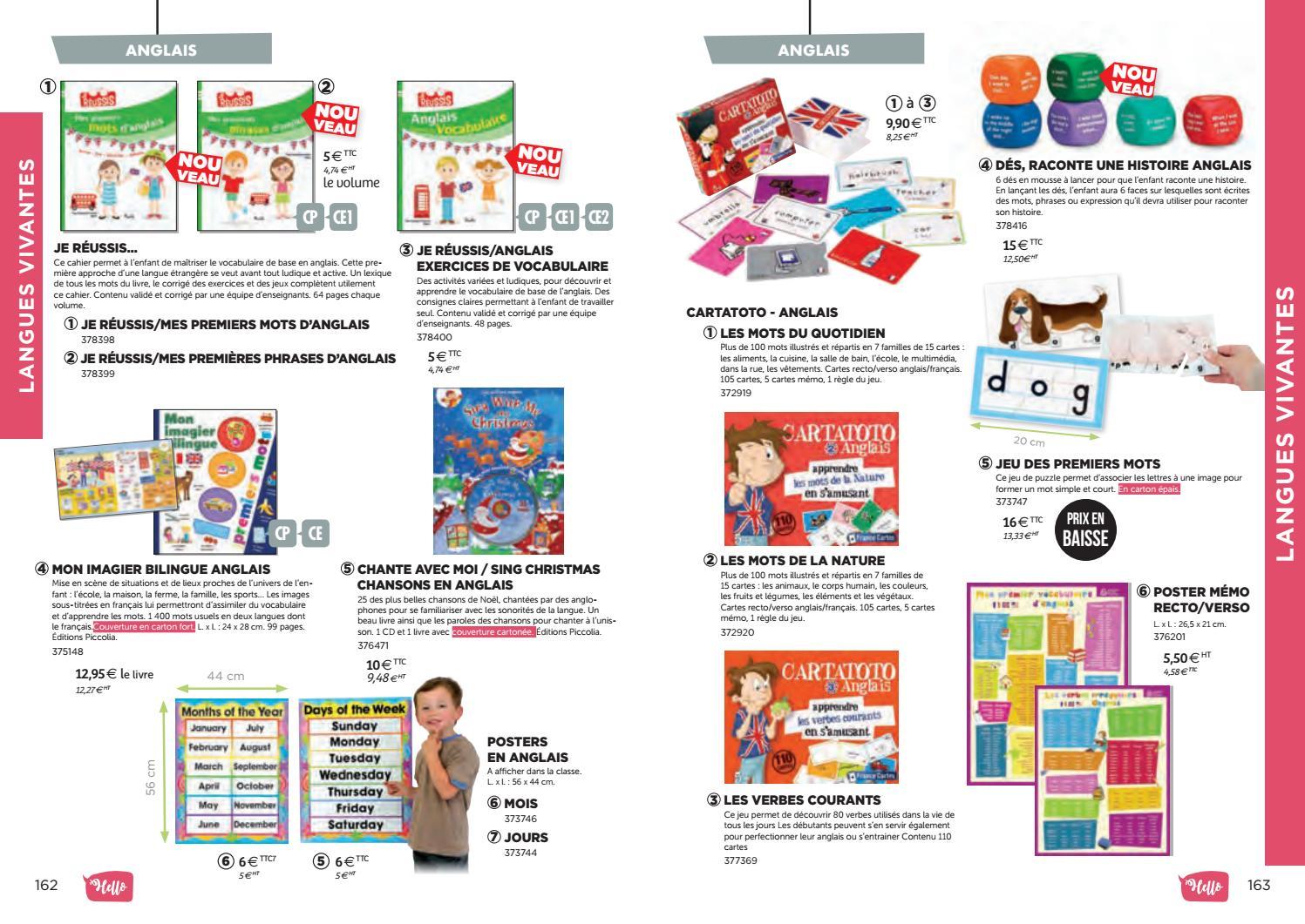 Catalogue Bourrelier Education 6 11 Ans 2018 By Bourrelier avec Jeu De Mot En Anglais