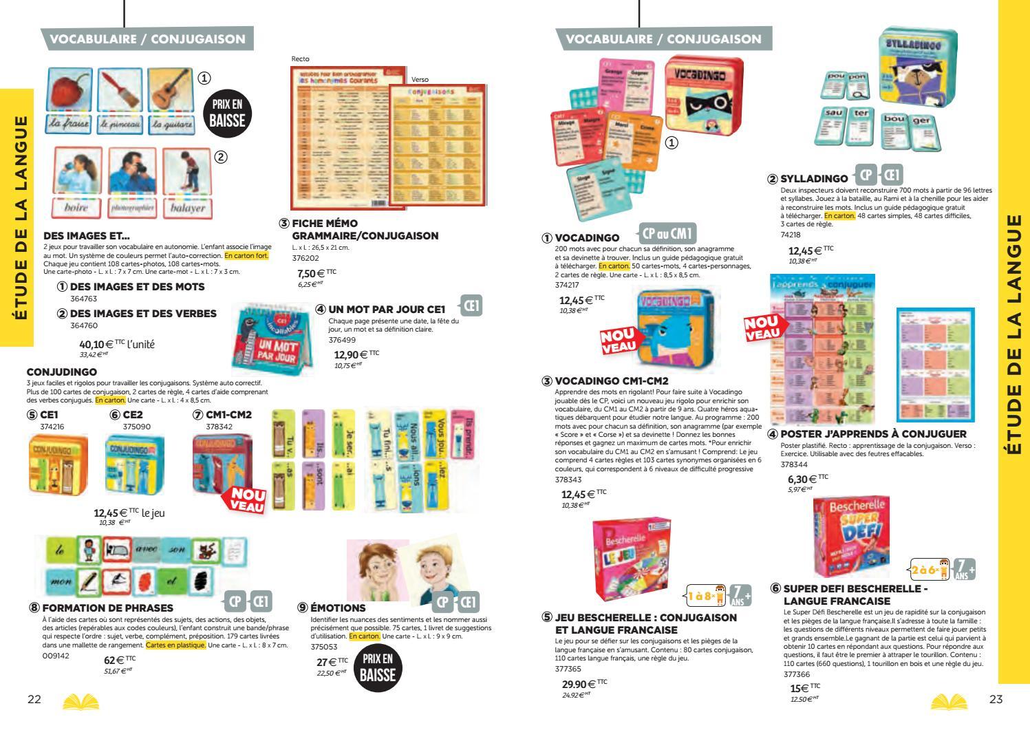 Catalogue Bourrelier Education 6 11 Ans 2018 By Bourrelier tout Jeux Anagramme Gratuit A Telecharger