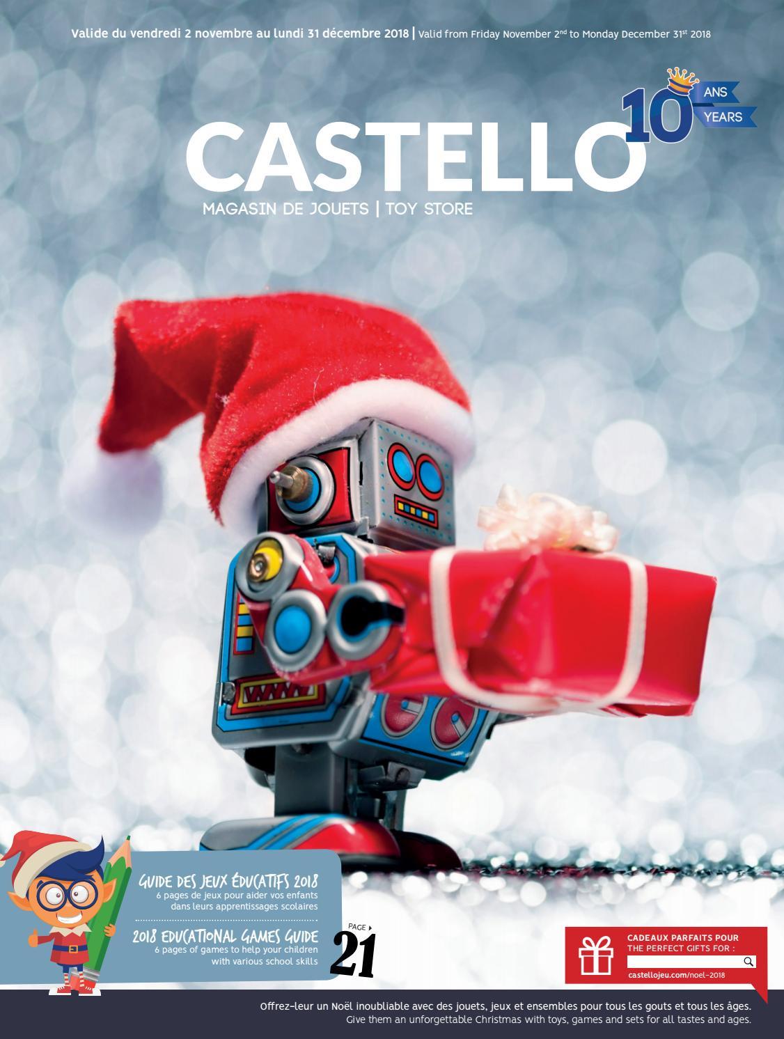 Catalogue De Noël 2018 - Castello By Castellojeu - Issuu à Jeux Educatif 10 Ans
