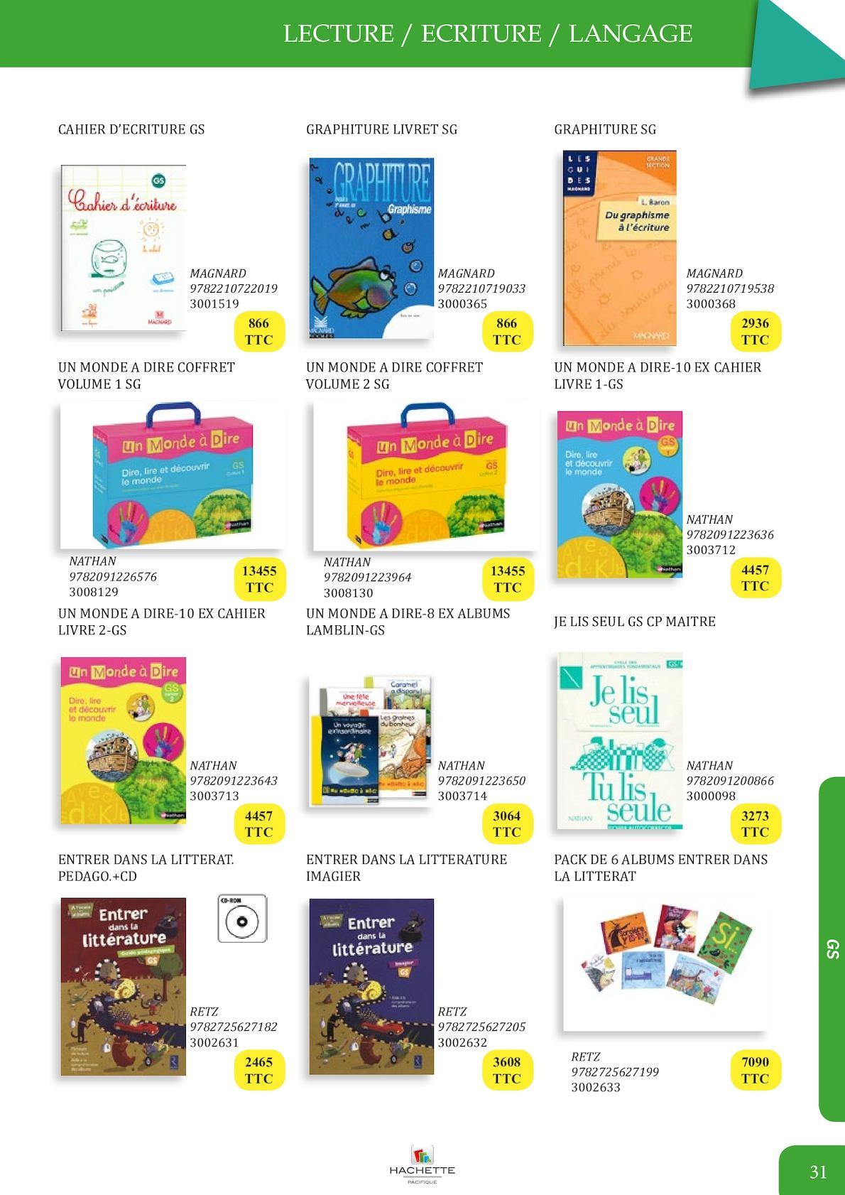 Catalogue Rdc 2017 - Maternelle Bd - Calameo Downloader à Graphisme En Gs