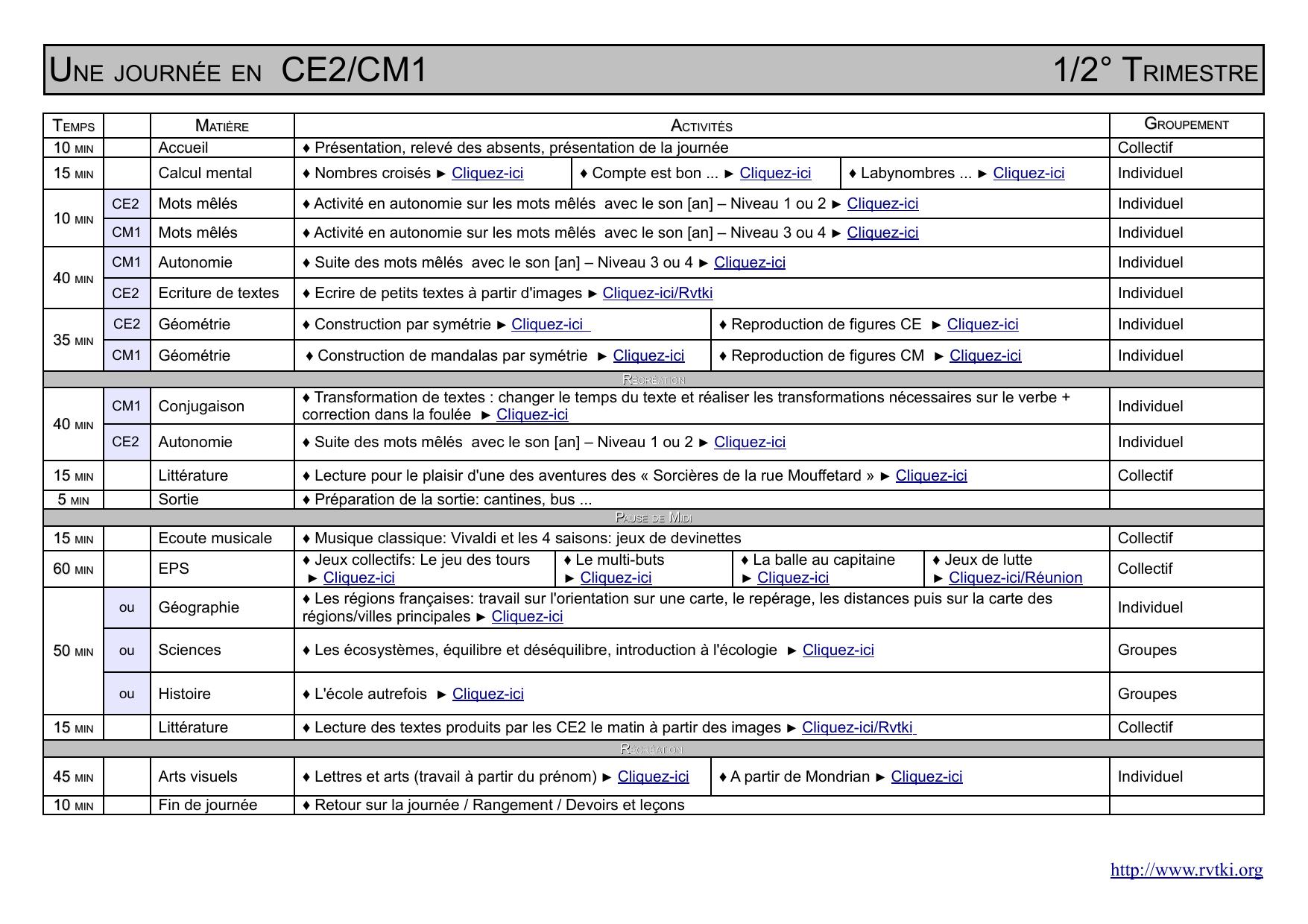 Ce2/cm1 encequiconcerne Mots Mêlés Cm2