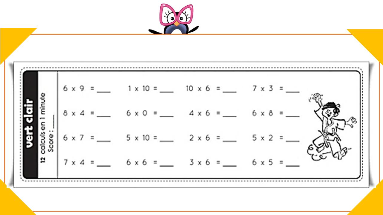 Ceintures De Tables De Multiplications (V3) - Charivari À L intérieur Exercices De Maths Cm1 À Imprimer Gratuit
