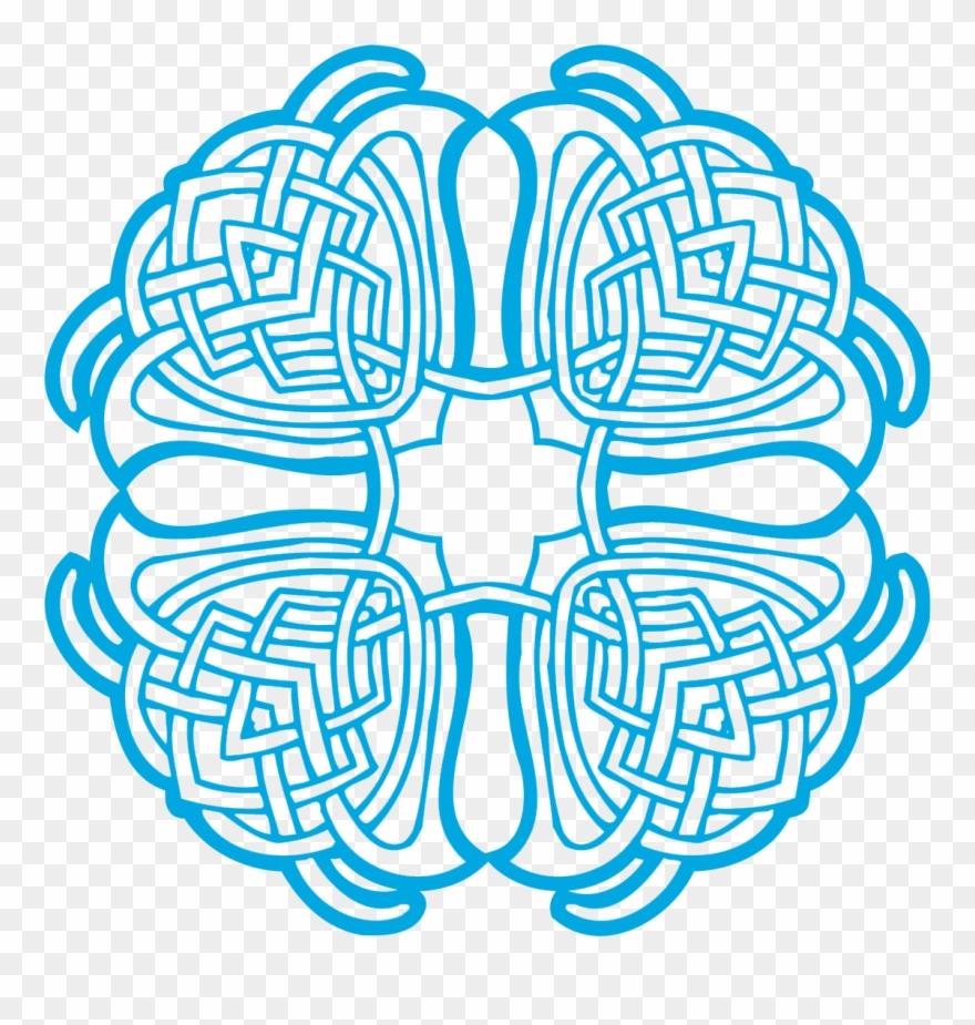Celtic Ornaments Vector Free Proto-Celtic - Rosace Dessin A dedans Dessiner Une Rosace