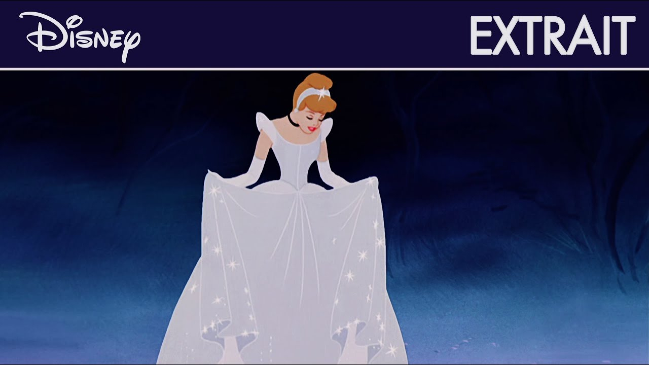 Cendrillon - Extrait : La Transformation De La Robe | Disney pour Cendrillon 3 Disney