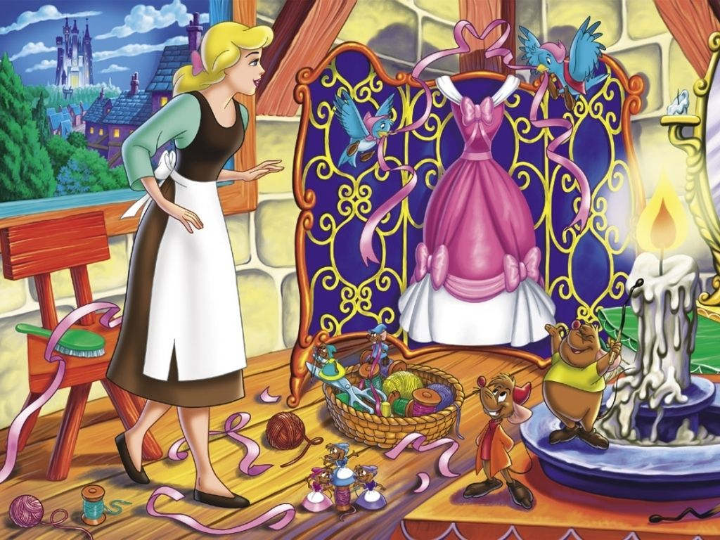 Cendrillon, Jac Et Gus   Cinderella Wallpaper, Disney concernant Cendrillon 3 Disney