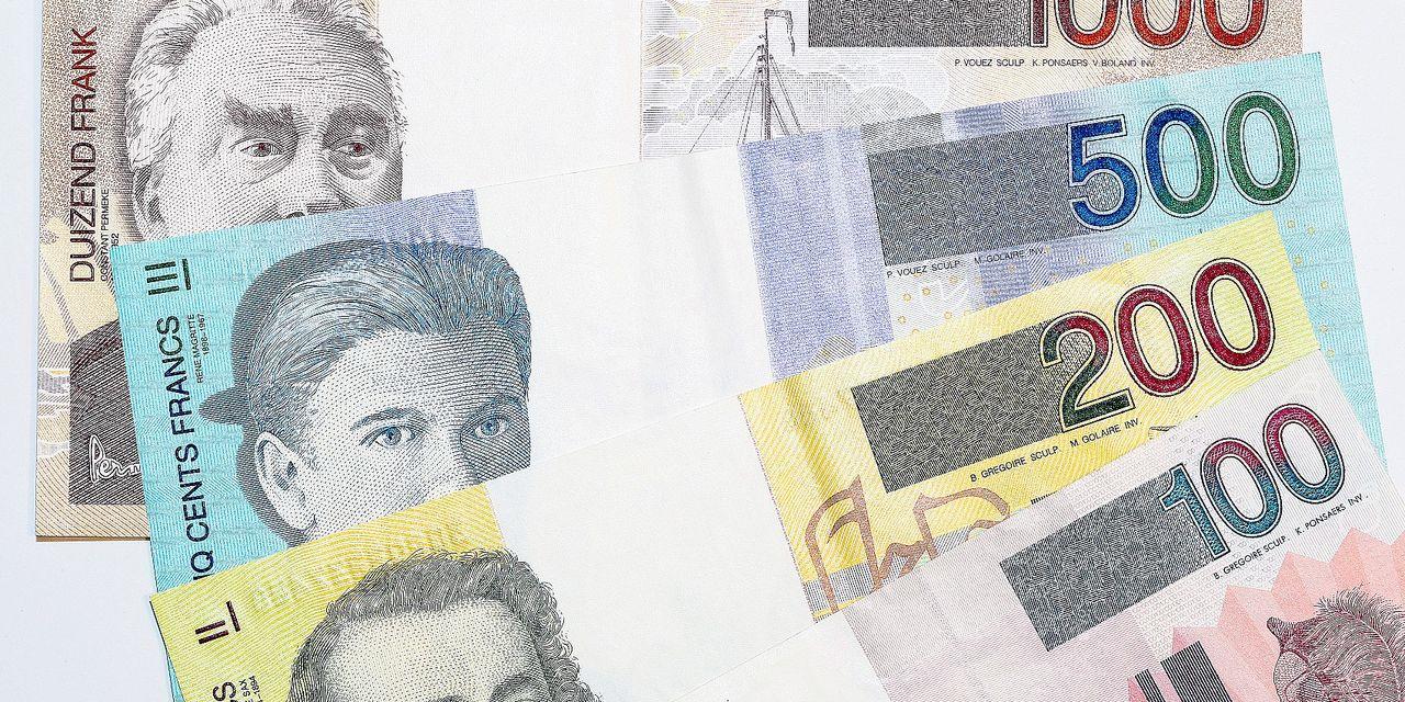 Ces Milliards De Francs Belges Que Vous Gardez (Encore) Sous tout Pieces Et Billets Euros À Imprimer