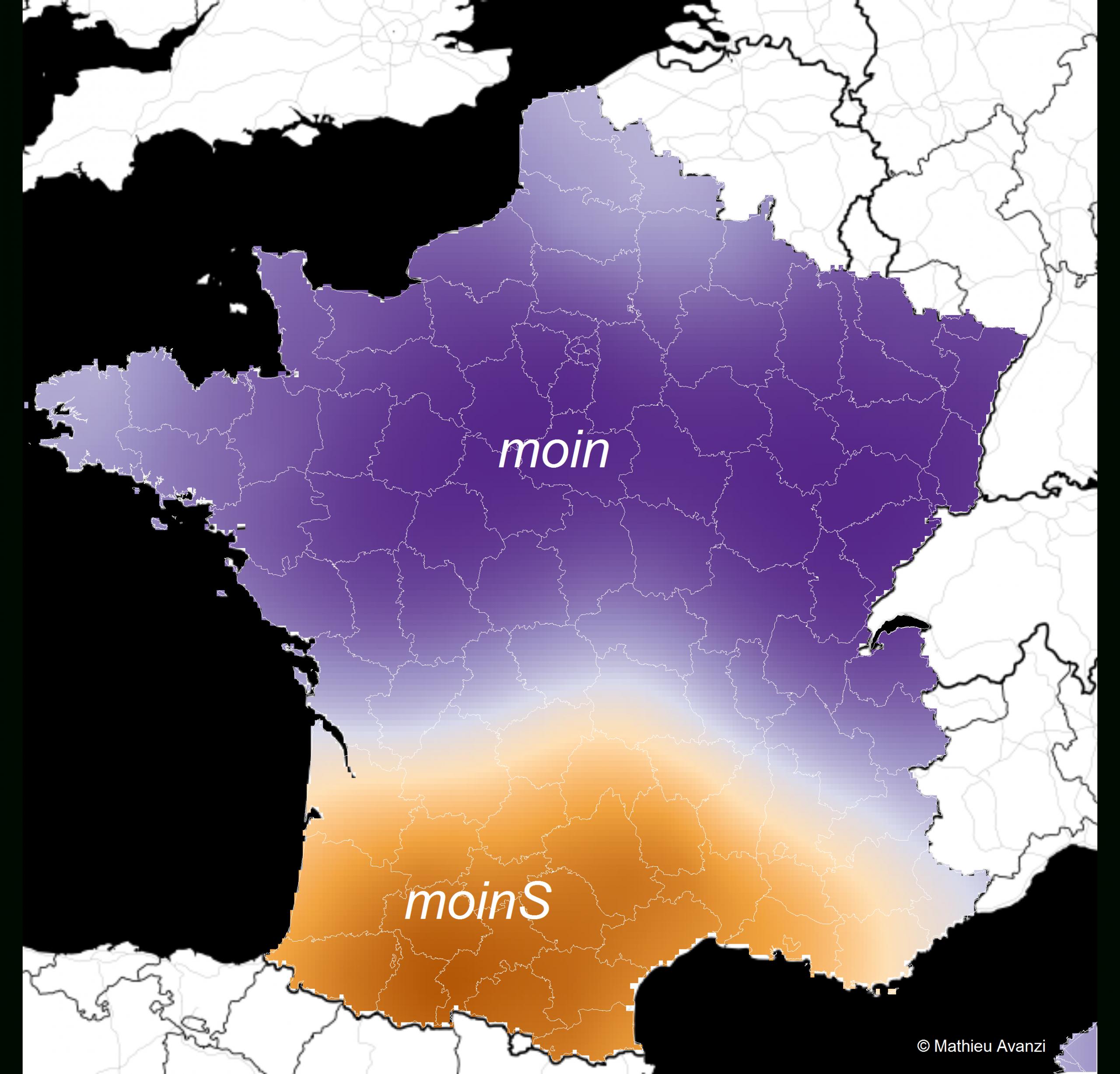 Ces Mots Qui Ne Se Prononcent Pas De La Même Façon D'un Bout dedans Nouvelles Régions De France 2017